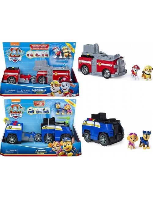 Psi Patrol Pojazd z Dwoma Figurkami 2w1 6055931