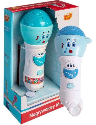 Smily Play Nagrywający Mikrofon SP83112 Niebieski