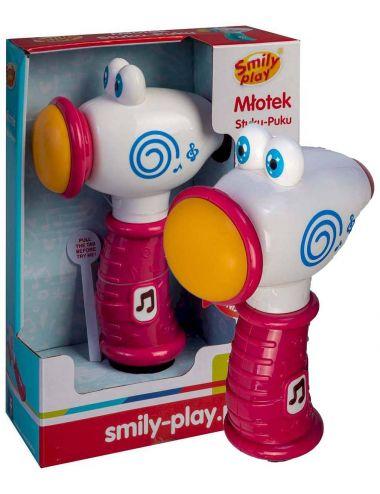 Smily Play Młotek różowy Stuku - Puku SP83136