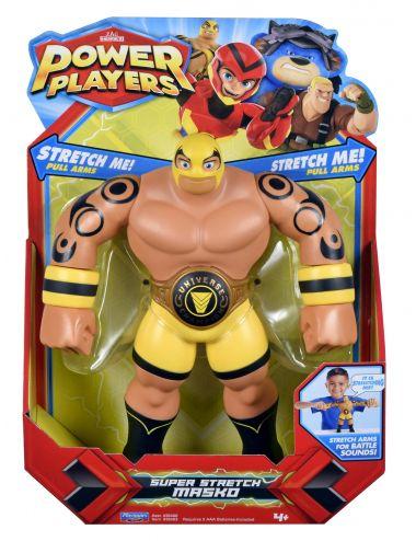 Power Players Masko figurka super stretch z dźwiękiem 38403