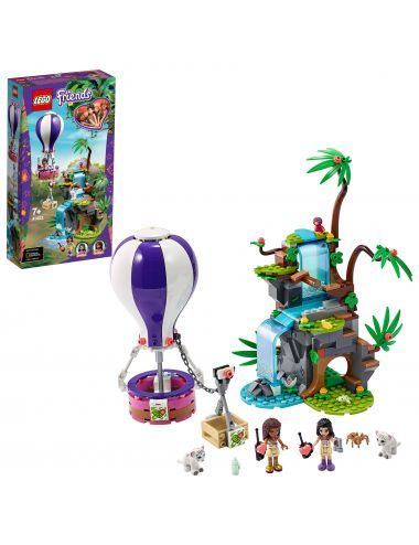 LEGO Friends Balonem na ratunek tygrysowi 41423