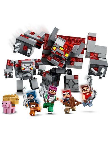 LEGO Minecraft Bitwa o czerwony kamień 21163