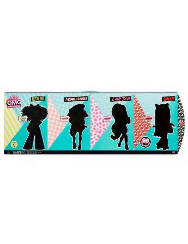 L.O.L. Surprise OMG 4-Pack czteropak lalek Seria 1 422020
