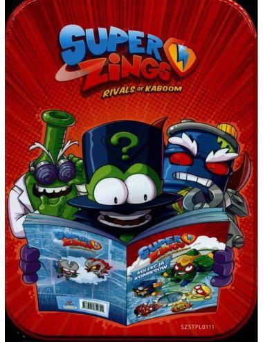 Super Zings Kolekcja Komiksów w Puszce