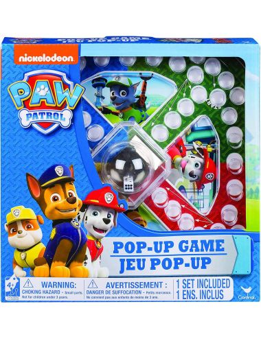 Psi Patrol Chińczyk Pop Up gra planszowa 6028796