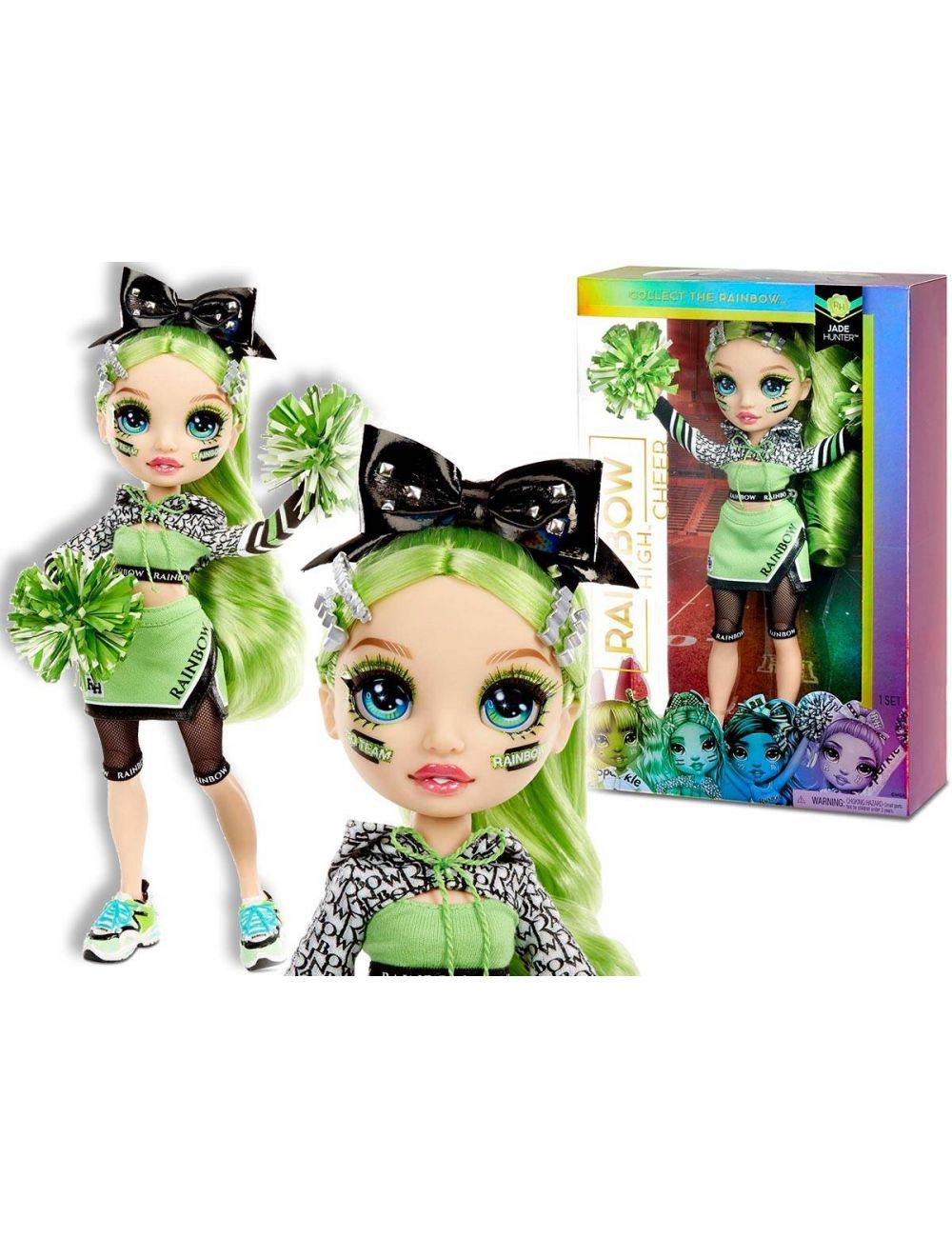 Rainbow High Cheer Doll Jade Hunter Lalka Cheerleaderka 572060