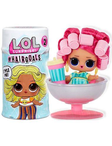Lol Surprise Hairgoals 2.0 Laleczka z Prawdziwymi Włosami 15 Niespodzianek 572657