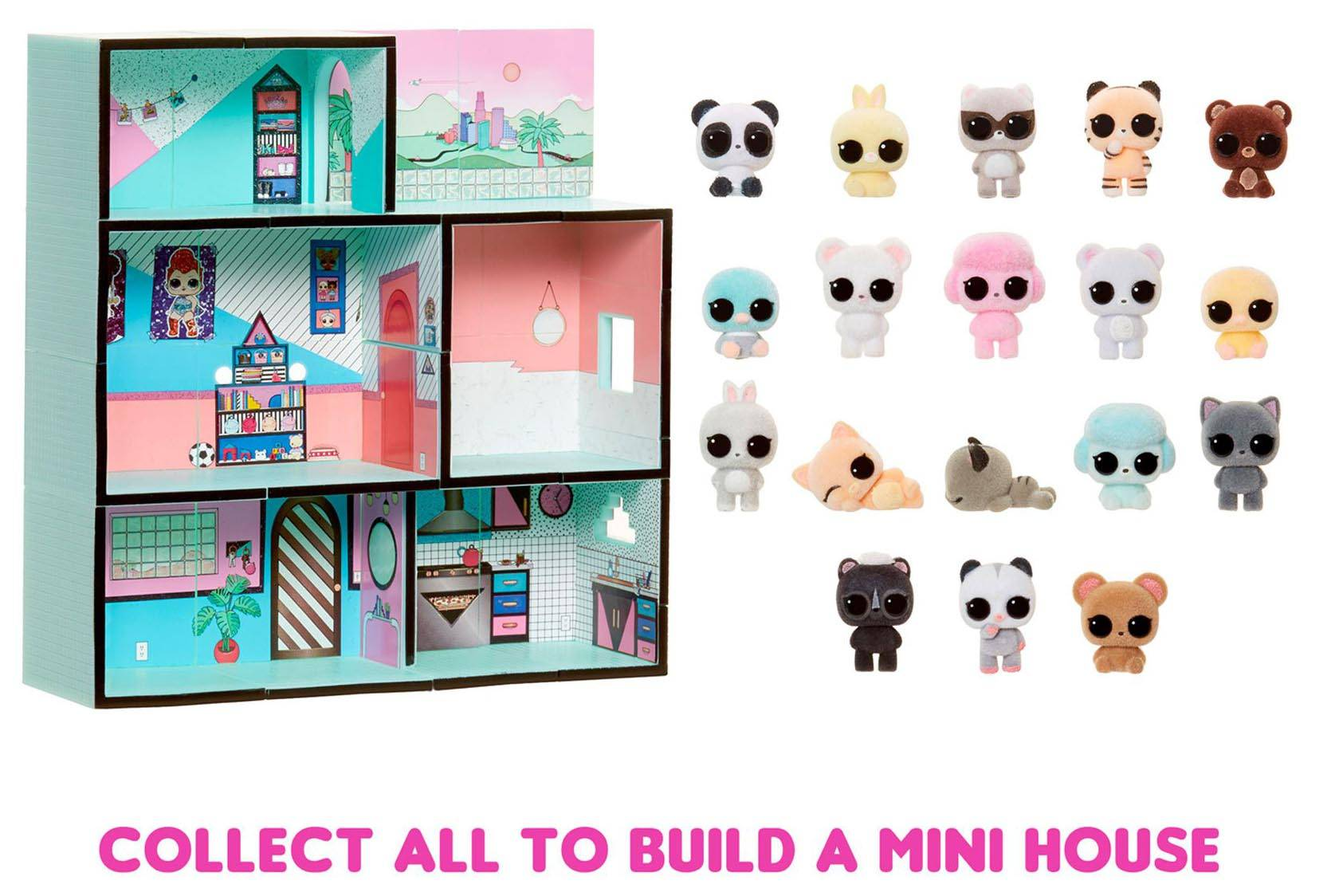 Lol Surprise Minis Fuzzy Animals Puszyste Zwierzaczki 5 Niespodzianek 569343