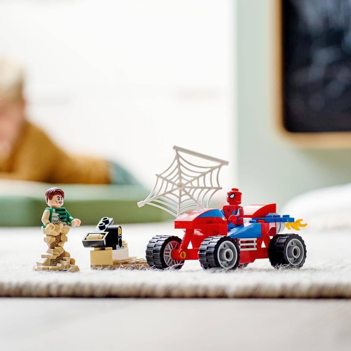 LEGO Spiderman Pojedynek Spider-Mana z Sandmanem 76172