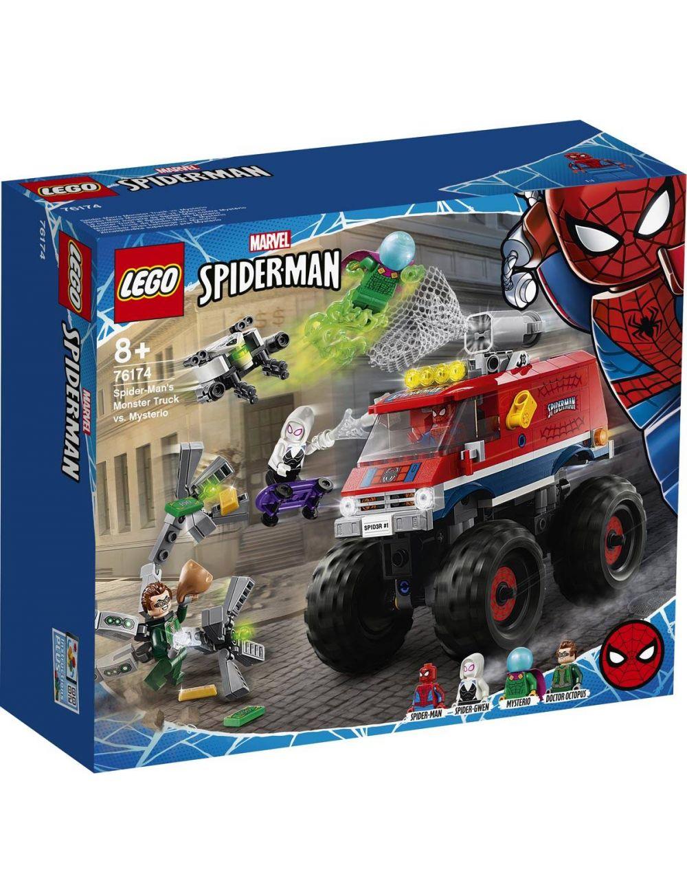 LEGO Spiderman Monster truck Spider-Mana kontra Mysterio 76174