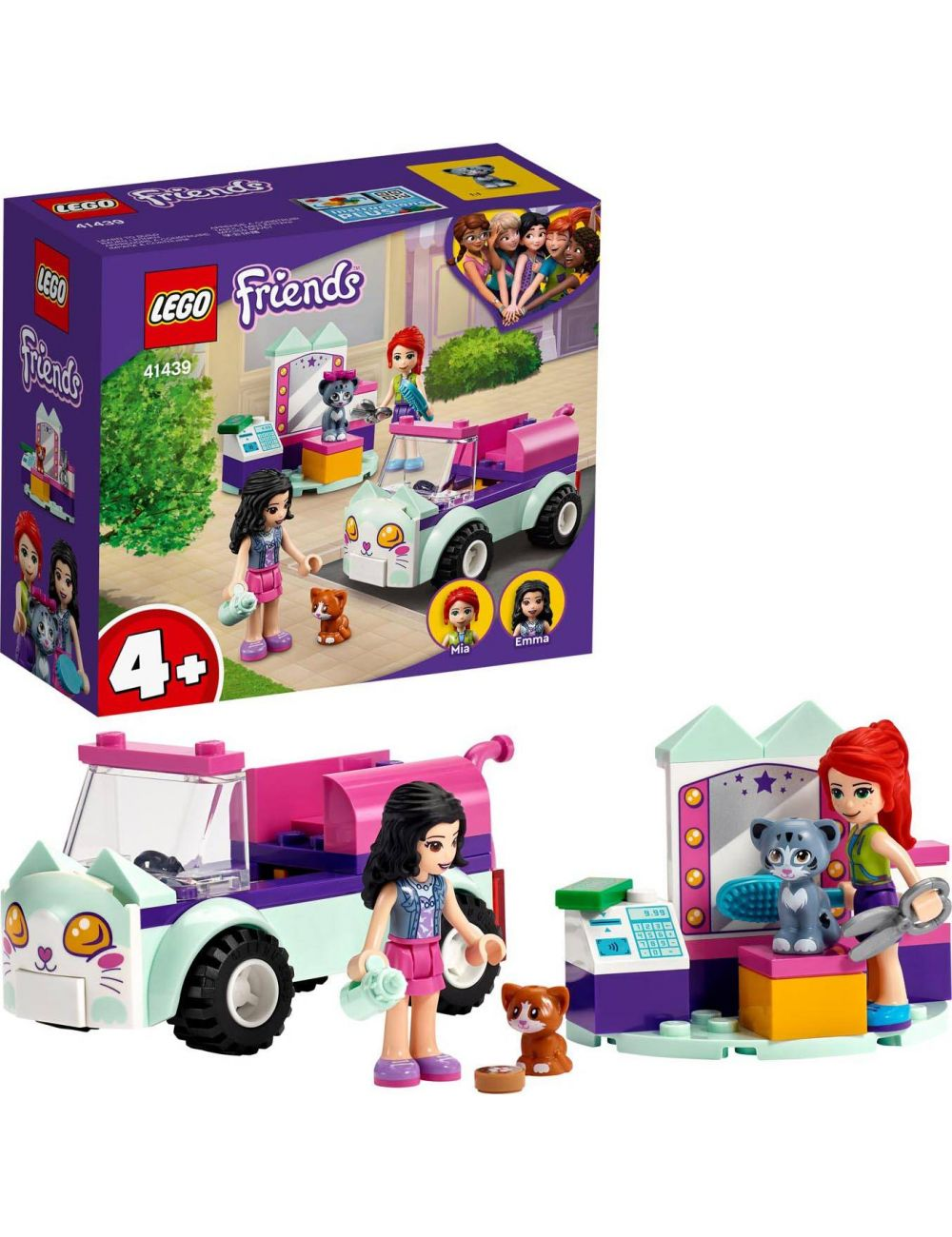 LEGO Friends Samochód do pielęgnacji kotów 41439