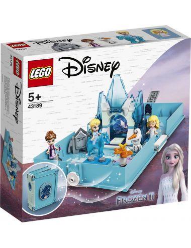 LEGO Disney Książka z przygodami Elsy i Nokka 43189