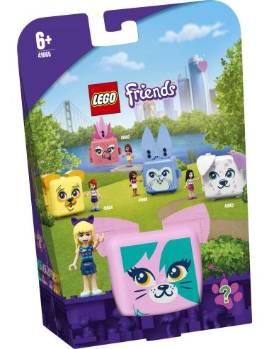 LEGO Friends Kostka Stephanie z kotem 41665