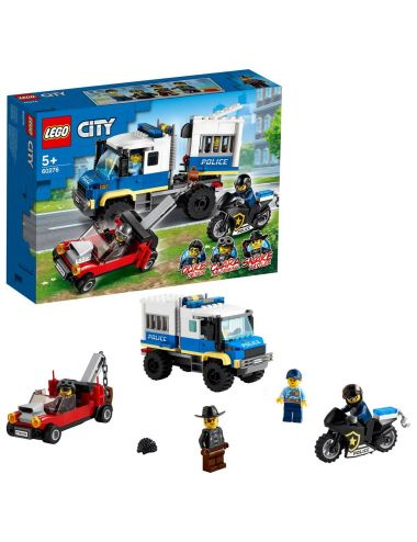 LEGO City Policyjny konwój więzienny 60276
