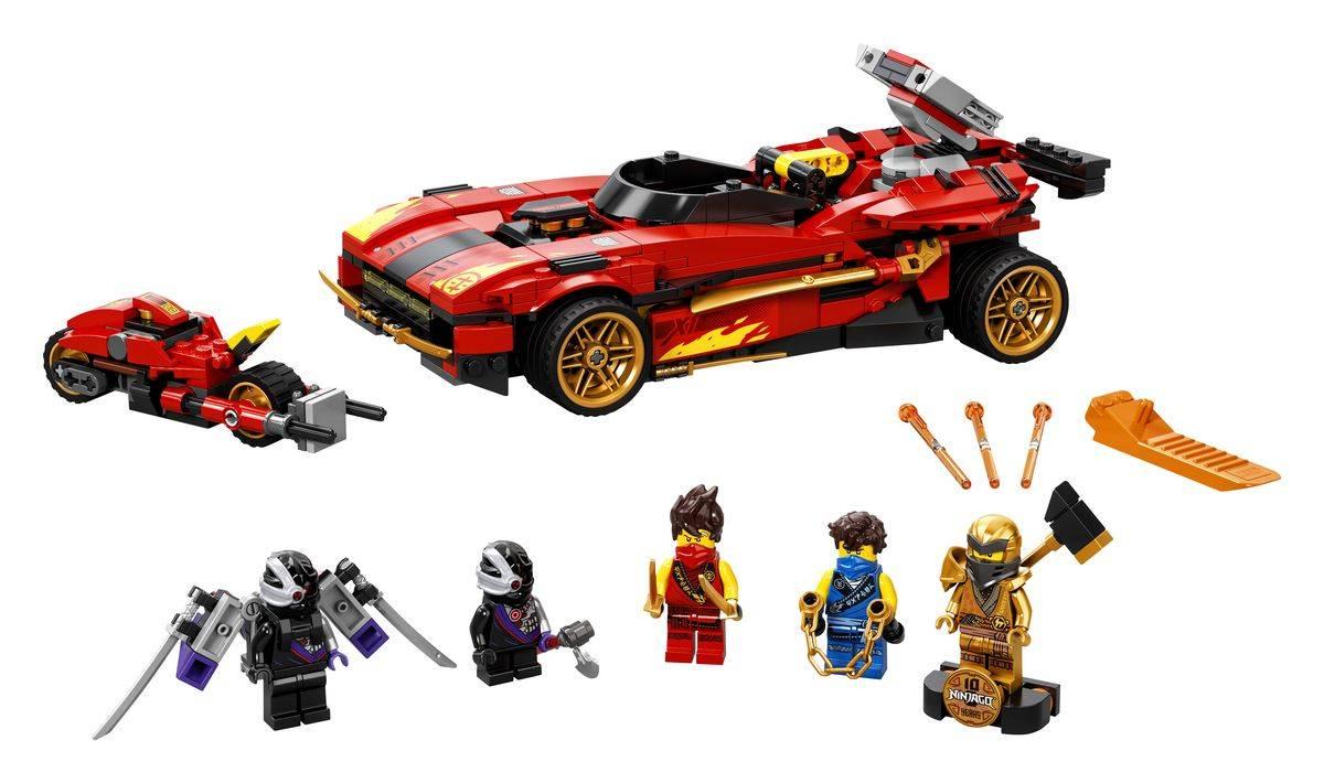 LEGO NINJAGO klocki Ninjaścigacz X-1 71737