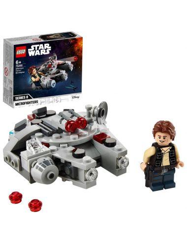 LEGO STAR WARS klocki Mikromyśliwiec Sokół Millennium 75295
