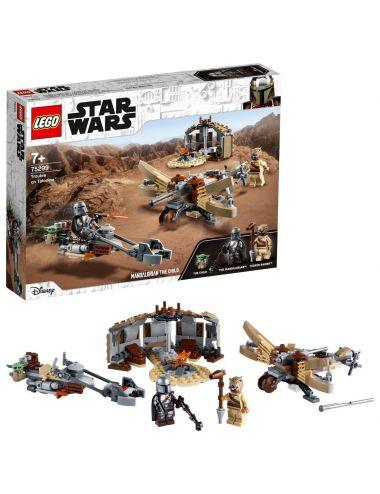 LEGO STAR WARS klocki Kłopoty na Tatooine 75299