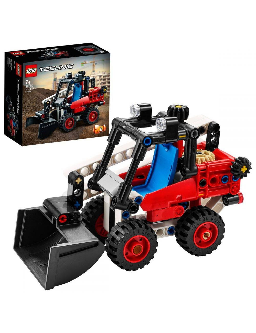 LEGO TECHNIC klocki Miniładowarka 42116