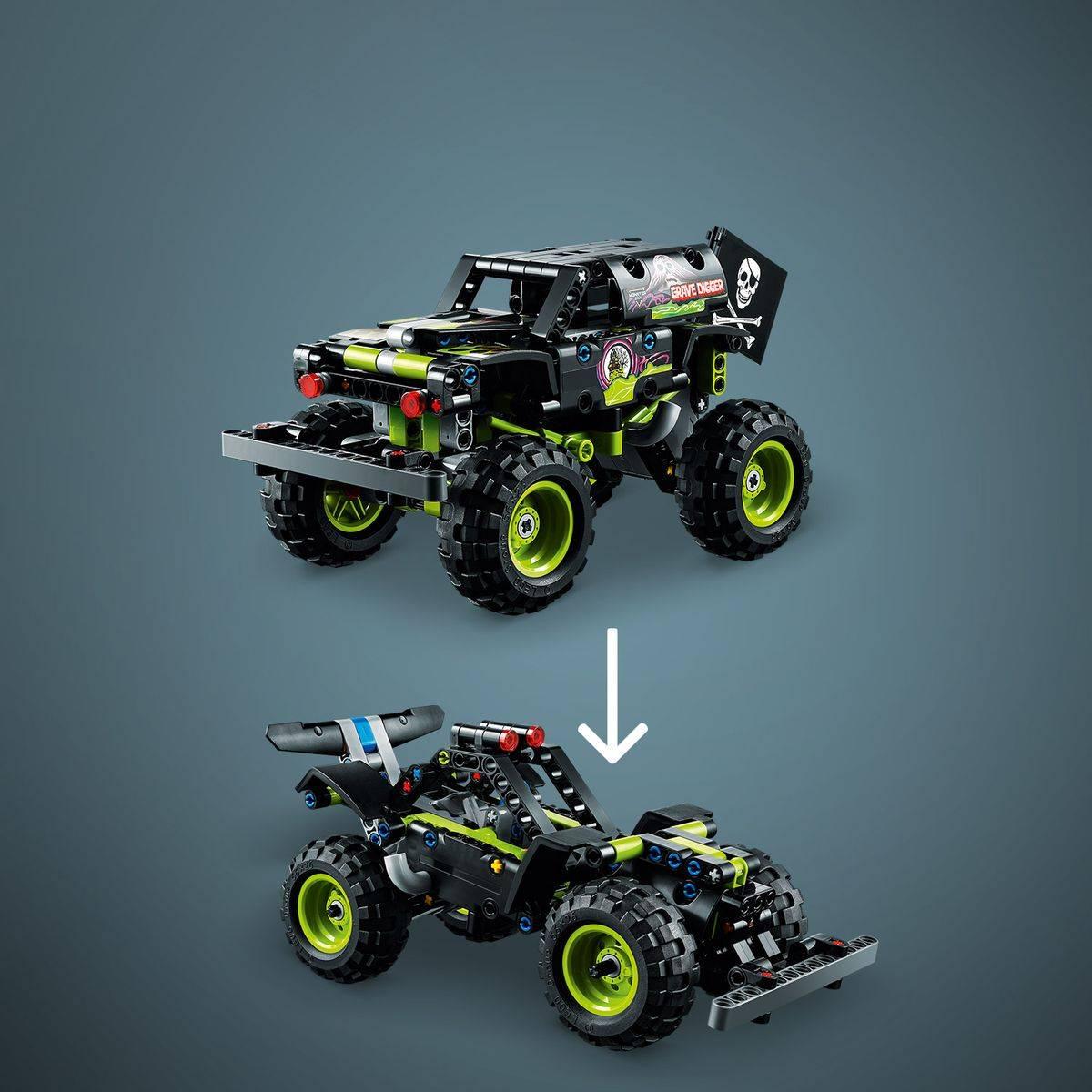 LEGO Technic Monster Jam Grave Digger model 42118