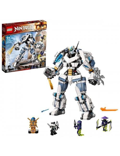 Lego Ninjago Starcie tytanów Mech 71738
