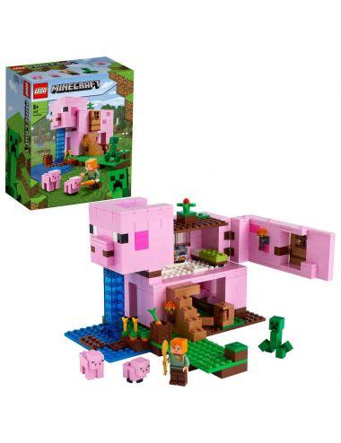 LEGO Minecraft Dom w kształcie świni 21170