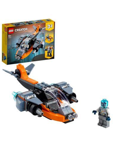 LEGO CREATOR Cyber Drone klocki 31111