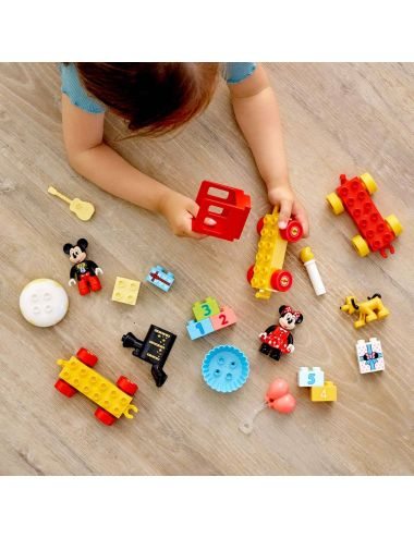 LEGO DUPLO Urodzinowy pociąg Miki i Minnie 10941