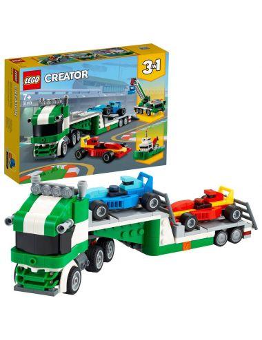 LEGO CREATOR Laweta z wyścigówkami klocki 31113