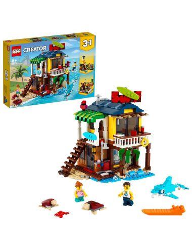 LEGO CREATOR Domek surferów na plaży klocki 31118