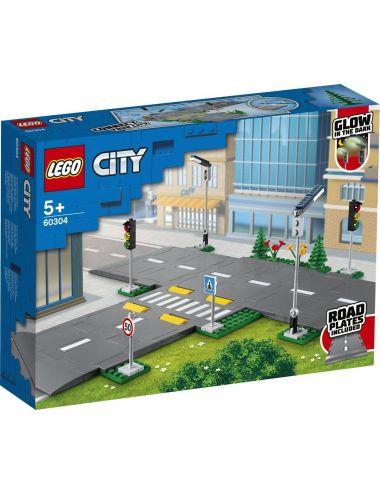 LEGO City Płyty drogowe klocki 60304