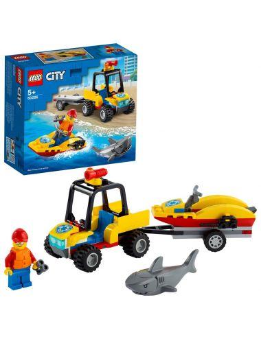 LEGO City Plażowy quad ratunkowy 60286
