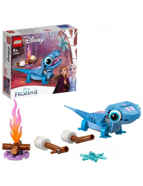 LEGO Disney Salamandra Bruni do zbudowania 43186