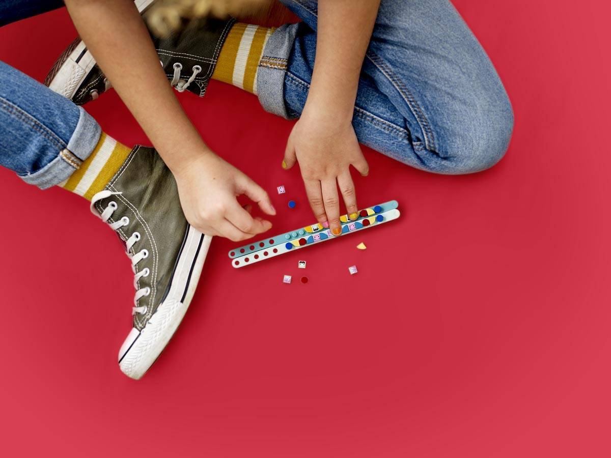 LEGO Dots Bransoletki z potworkami 41923