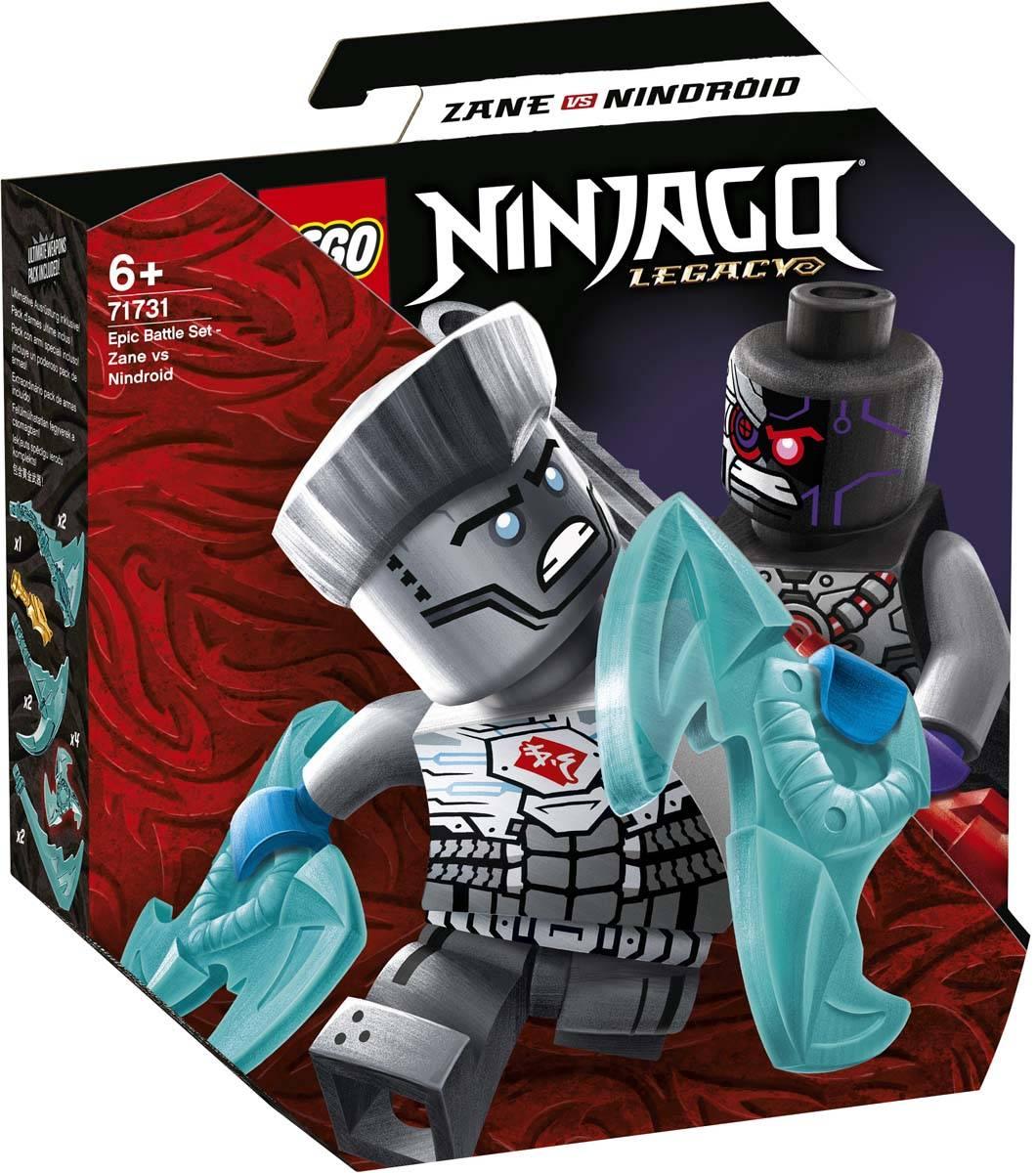 LEGO NINJAGO Epicki zestaw bojowy Zane kontra Nindroid 71731