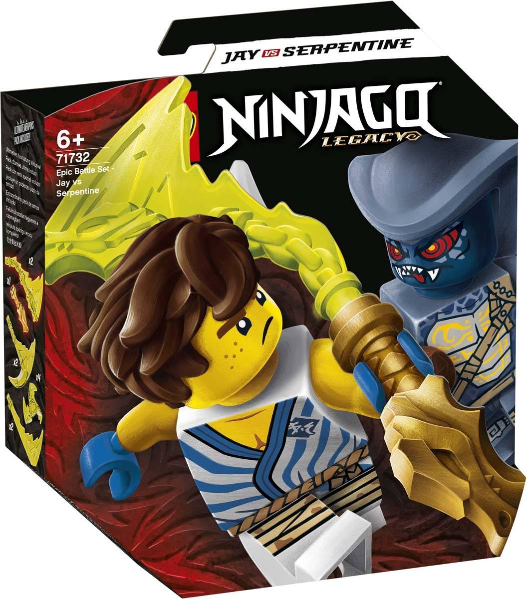 LEGO NINJAGO Epicki zestaw bojowy — Jay kontra Wężon 71732