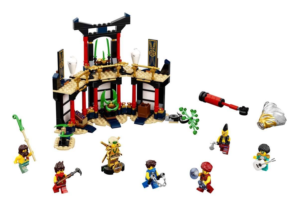 LEGO Trujące Bagno Wigglera Klocki Zestaw Dodatkowy 71383