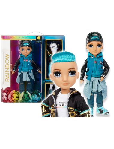 Rainbow High Karma Nichols Teal Boy Lalka Modowa 572145