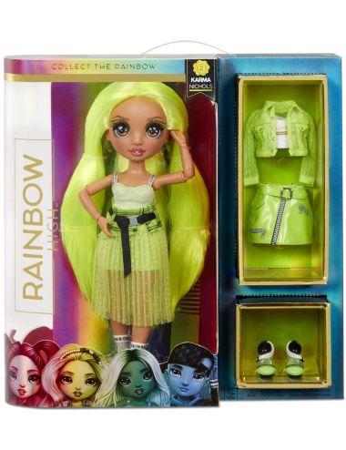Rainbow High Karma Nichols Neon Lalka Modowa 572343