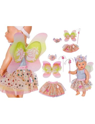 BABY BORN Zestaw Magiczny Jednorożec Dla Lalki i Dziewczynki 829325