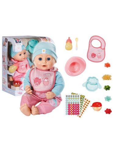 Baby Annabell Lalka Lunch Time z Akcesoriami 43cm 702987