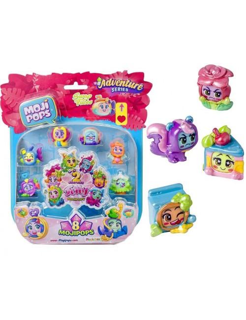 Moji Pops Adventures Two Team 8 Figurek Jelly Surprise Blister