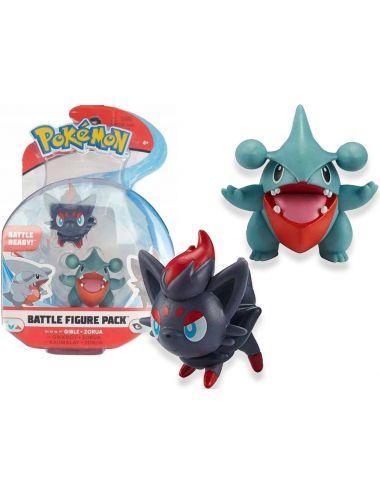 Pokemon 76484 Battle Figurka Gible i Zorua