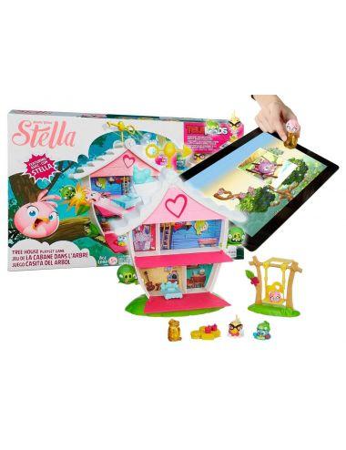 Hasbro ANGRY BIRDS Stella Dom Stelli I Przyjaciół Z Telepodem A8886