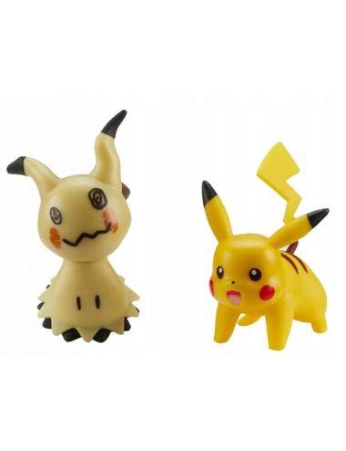 Pokemon Battle Figurka Mimikyu i Pikachu 78910