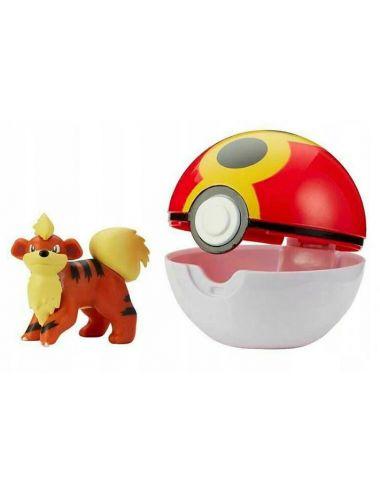 Pokemon Clip'N'Go Figurka Glowlithe i Repeat Ball 79409