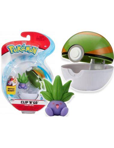Pokemon Clip'N'Go Figurka Oddish Nest Poke Ball 76538