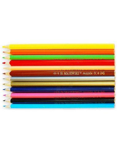 Bambino Trójkątne Kredki Ołówkowe 12 Kolorów 5002038