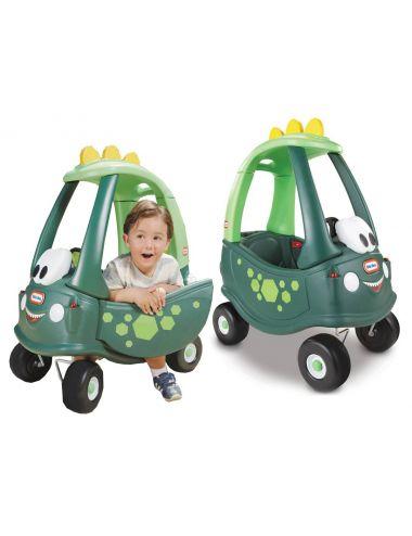 Little Tikes JEŹDZIK Cozy Dino Pchacz Samochód Zielony
