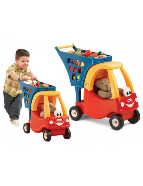 Little Tikes PCHACZ Cozy Coupe Wózek Na Zakupy Czerwony 618338