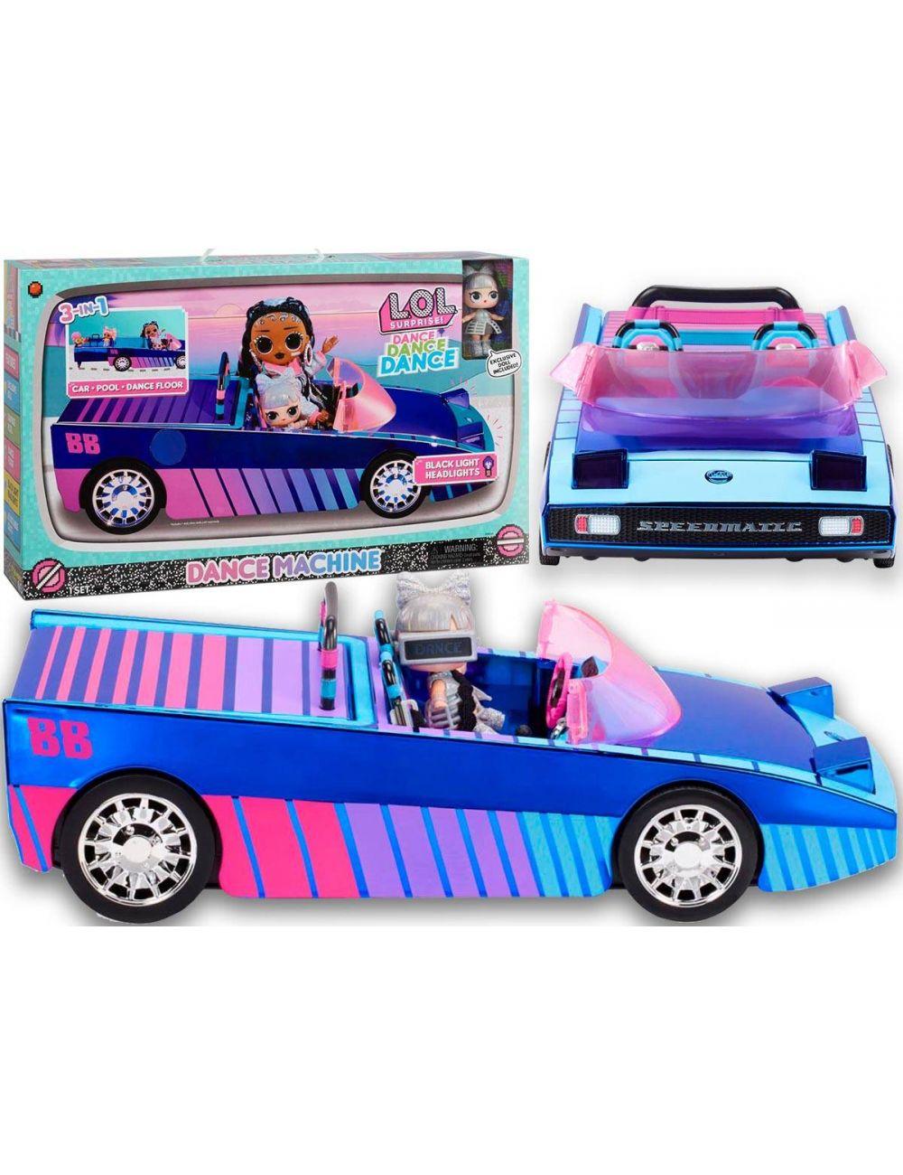 Lol Surprise Dance Dance Dance Ekskluzywny Samochód Dance Machine 577409